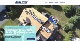 A1 Pro Roofing Services Website Design